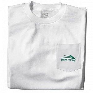 Camiseta Lakai Younie Super Store branco