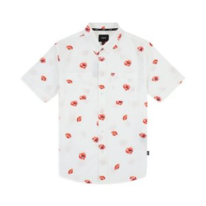 Camisa HUF Poppy branco
