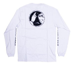 Camiseta Manga Longa Lakai Blessing branco