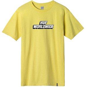 Camiseta HUF Postal amarelo