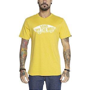 Camiseta Vans OTW amarelo mostarda