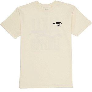 Camiseta Lakai Bend branco off white
