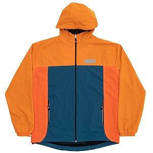 Corta Vento High Company Rain Jacket laranja/verde