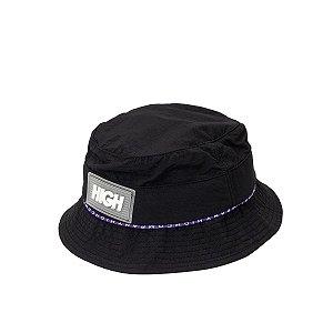 Bucket Hat High Company Striped preto