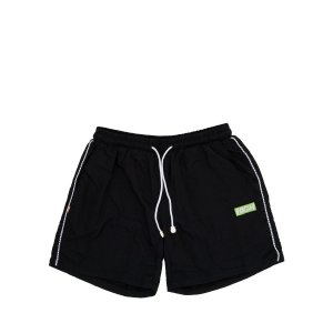 Short High Company Striped preto