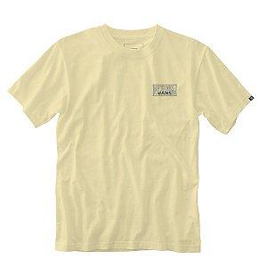 Camiseta Vans Rubber co Shaper cream