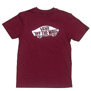 Camiseta Vans OTW vinho