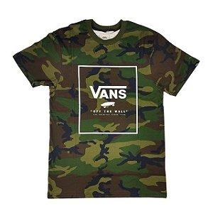 Camiseta Vans Print Box camo