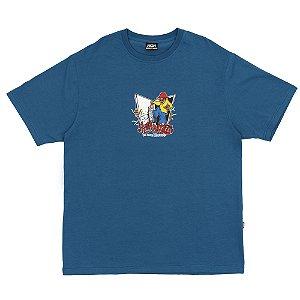 Camiseta HIgh Company Kickin azul