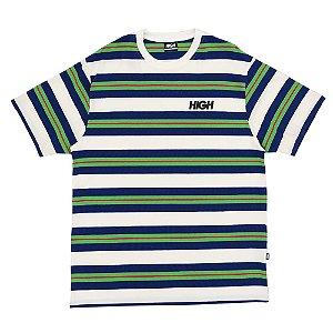 Camiseta High Company Kidz branco/azul