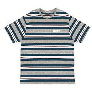 Camiseta High Company Kidz cinza/verde