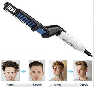 Aparelho de alisamento para barba e cabelo