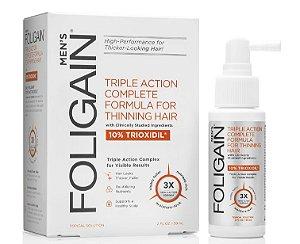 Foligain Trioxidil 10% + Bloqueador de DHT