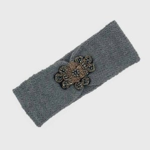 Turbante Headband Tricot Mescla