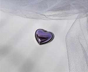 Pin Coração - Lilás