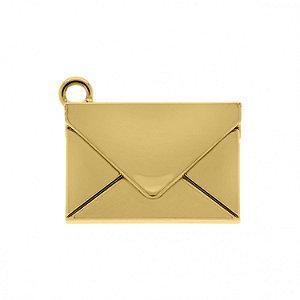 Pin Carta de Correio - Banhado a Ouro