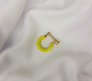 Pin Estribo Esmaltado Amarelo Neon