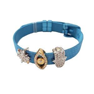 Pulseira Esteira Inspired Blue