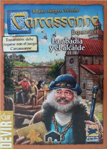 Carcassonne - A Abadia e o Alcaide (Expansão)