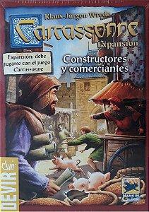 Carcassonne - Construtores e Comerciantes (Expansão)