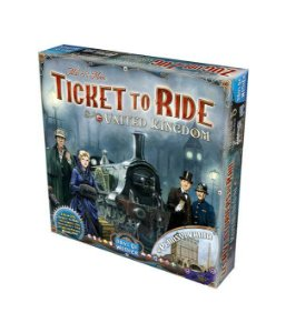 Ticket to Ride - Reino Unido e Pensilvânia (Expansão)