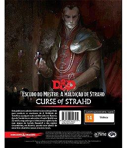 Dungeons & Dragons - Escudo do Mestre para A Maldição de Strahd
