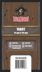 Sleeves Tarot 70 x 120 mm (Bucaneiros)