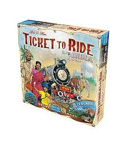 Ticket to Ride - Índia e Suíça (Expansão)