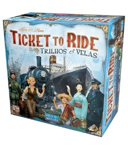Ticket to Ride - Trilhos e Velas
