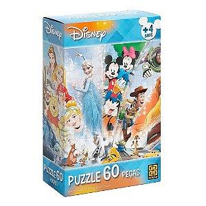 Quebra-Cabeça Disney 60 peças