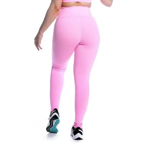 Legging Supplex Rosa Iogurte Movimento e Cia