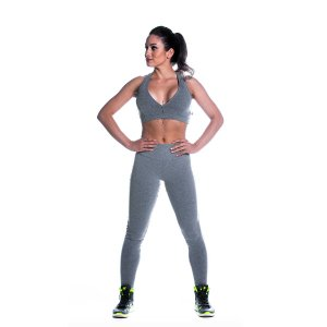 Conjunto Top e Legging Supplex Básico Cz Movimento e Cia