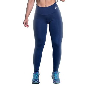 Legging Supplex Azul Marinho Movimento e Cia