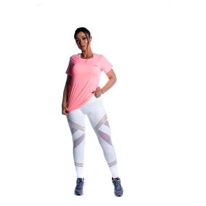 Conjunto Camiseta e Legging Sansations Movimento e Cia