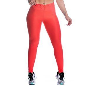 Legging Strength Laranja Movimento e Cia