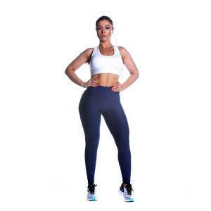 Conjunto Top e Legging Power Azul Movimento e Cia