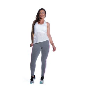 Conjunto Regata e Legging Screen Movimento e Cia