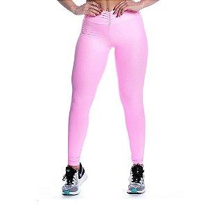 Legging Strenght Rosa Iogurte Movimento e Cia