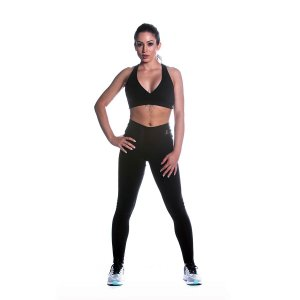 Conjunto Top e Legging Supplex Básico Movimento e Cia