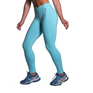 Legging Supplex Azul Refúgio Movimento e Cia