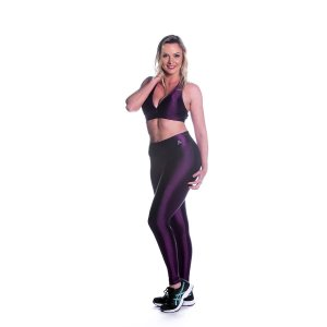 Conjunto Top e Legging Oregon Vinho Movimento e Cia