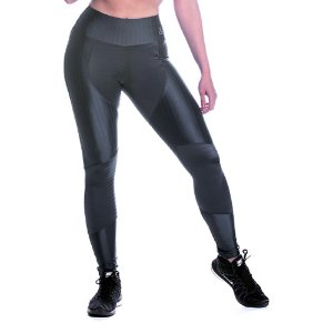 Legging Oregon Recorte Cinza Movimento e Cia