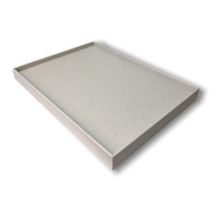 Bandeja Grande de Anel Corte H Off White (Luxo)