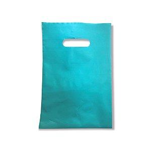 Sacola Plástica / Boca de Palhaço / 20x30 / Tiffany