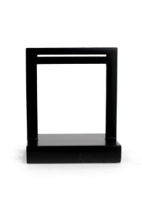 Expositor de brinco janela laqueado preto P