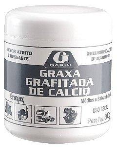 Graxa Grafitada Cálcio 500g Garin