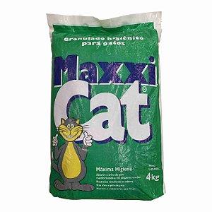 Areia para Gato Maxxi Cat Fardo com 5pct 4kg