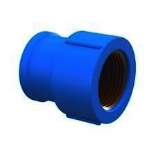 Luva Azul Bucha Latão 20x1/2 12pçs