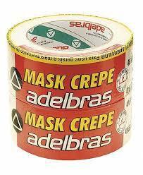 Fita Crepe Mask 24mmx50mts com 5un Adelbras Mask