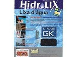 Lixa D' Água Com 50 Fls Grão 180